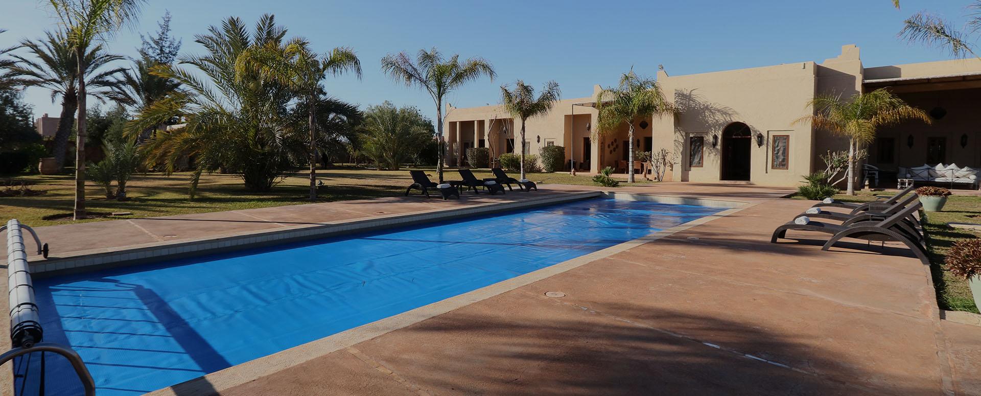 Dar cherif villa de luxe marrakech - Chambre chez l habitant marrakech ...